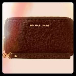 Michael Kors purse and billfold wallet